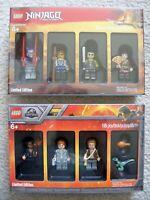 LEGO - Bricktober - Rare - Jurassic World 5005255 & Ninjago 5005257 - New