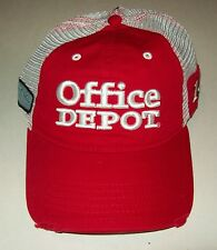 Tony Stewart #14 Office Depot Mesh Trucker Hat Chase Authentics Velkro Close NWT