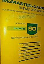 Vintage McMaster Carr Supply Company Catalog Number 90 1984