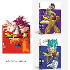 Dragon Ball Super Part 1-2-3 dvd set Combo New Sealed  Bundle Combo Set DVD