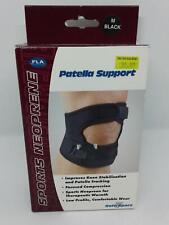 FLA Sports Neoprene Orthopedics Patella Support Medium Black