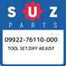 09922-76110-000 Suzuki Tool set,diff adjust 0992276110000, New Genuine OEM Part