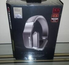 NEW MONSTER INSPIRATION ACTIVE NOISE CANCELING PRO TITANIUM SILVER HEADPHONES