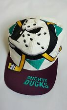 Vintage Anaheim Mighty Ducks Snapback Hat Cap The Game  Big Logo