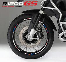R1200GS bmw Motorrad Felgen Rand aufkleber set rim stickers adventure r1200 GS