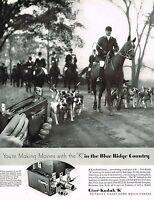 1930s BIG Original Vintage Cine Kodak K Movie Camera Horse Photo Print Ad