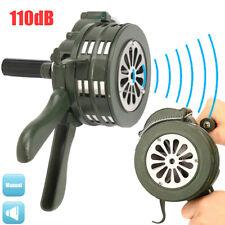 US 110db Loud Hand Crank Manual Operated Air Raid Alarm Portable Handheld Siren