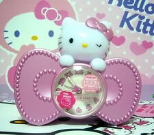Sanrio Hello Kitty Ribbon Music Alarm Clock Melody Chimes - E601KT
