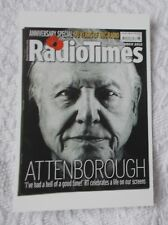 Postcard - Radio Times No. 100 - 10-16 November 2012 - Sir David Attenborough