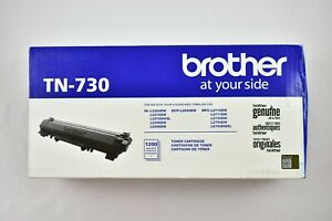 Brother Genuine TN730 Standard Yield Black Toner Cartridge HL-L2350DW/MFCL2710DW