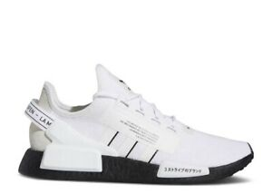 Adidas NMD R1 V2 White/Black New Size 8.5 US GW7689