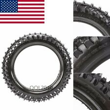 """60/100-10 10"""" Front Tire Tubeless for Dirt Pit Trail Bike Off-Road Honda Scooter"""