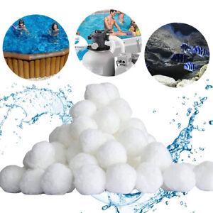 Filter Balls Filtermaterial Filterglas 700g Pool Sandfilter Quarzsand 25 kg Gram