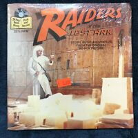 Read-Along 45 INDIANA JONES RAIDERS OF THE LOST ARK BUENA VISTA SEALED RECORD