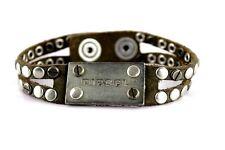 Diesel Avite pulsera bracciale Bracelet aspecto usado cuero Leather