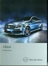 Original Betriebsanleitung Mercedes-Benz W176 A-Klasse Stand 2012