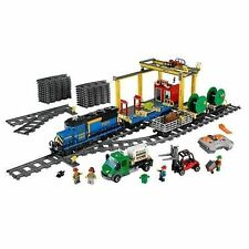 City Multi-Coloured Train Set LEGO Buidling Toys