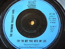 "RAYMOND FROGGATT BAND - TRY TO GET YOU INTO MY LIFE  7"" VINYL"