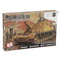 1:72 4D Grizzly Assault Gun Tank Models Military Collections Assemble Model Kit