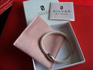 Leather Bracelet Magnetic Clasp