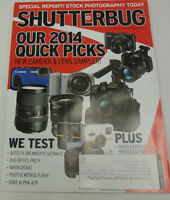 Shutterbug Magazine Our 2014 Quick Picks May 2014 071814R