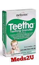 Nelsons Baby Teetha Teething Granules - 24 Sachets Exp 12/2019