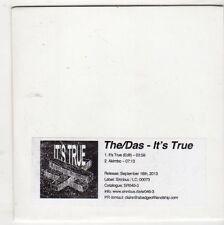 (GQ179) The/Das, It's True - 2013 DJ CD