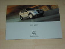 48741) Mercedes M-Klasse Prospekt 04/2000