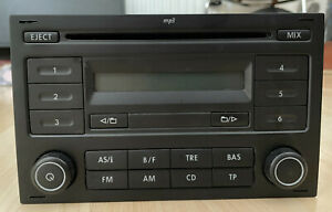 VW POLO MK4 2005-2009 RADIO CD MP3 PLAYER 6Q003515DI