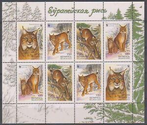 2000 Belarus WWF Fauna Felis Lynx MNH