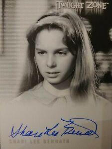 Shari Lee Bernath A-177 Autograph Card Twilight Zone Archives 2020 Rittenhouse