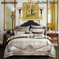 4/6/10Pcs Jacquard Luxury Duvet cover set  Bedding Set Bed sheet Bedspread