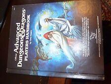 Advanced Dungeons & Dragons Players Handbook Gary Gygax TSR 1978 HC