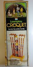 Vintage South Bend Croquet LawnPlay Game Set - Unused in Open Box Complete! Look