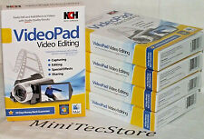 NCH Software VideoPad Video Editing Windows Mac New & Sealed