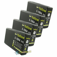 4 Yellow T7894 non-OEM Ink Cartridge For Epson Pro WF-5620DWF WF-5690DWF