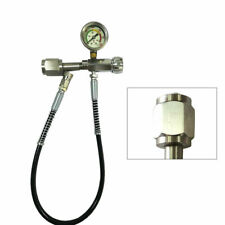 Refilling Charging Adapter Valve for Air Co2 Tank 0-4500(Psi)