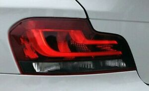 BMW OEM E82 E88 1 Series European Black Line Taillights Hi (Xenon Type) 2012-13