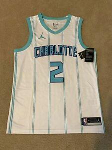 Charlotte Hornets LaMelo Ball #2 mens 2020-21 Swingman Jersey