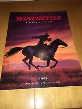 1995 Winchester Color Catalog Rifles Shotguns Model 94 70 9422 1300 1895