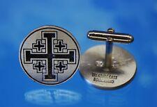Jerusalem Cross  Cuff links   Crusaders' Cross Cuff links   Gift for Groom