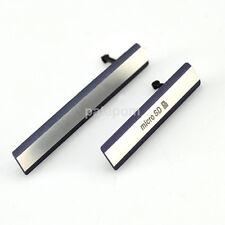 New Micro SD + USB SIM Card Port Plug Cover Caps For Sony Xperia Z2 D6503 L50W u