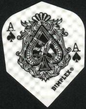 Ace of Spades Dimplex Dart Flights: 3 per set