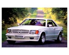 1987 Mercedes Benz AMG 500SEC W126 Automobile Photo Poster zc2780-JHC32V