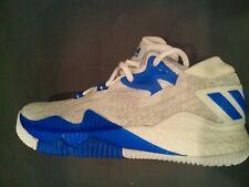 Adidas Crazylight Boost Low J White/C Blue/Onix ( B42601 ) SZ-5.5