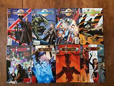 The ESTABLISHMENT - The MONARCHY (DC Wildstorm, 2001) #1, 2, 3, 4 each, 8 comics