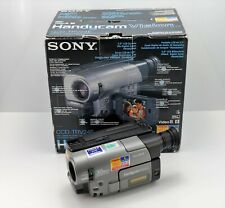 SONY HANDYCAM CCD-TRV24E CAMCORDER BOXED VIDEO-8 CAMERA ANALOGUE 8MM VIDEO
