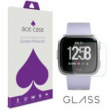 Fitbit Versa Tempered Protection d'écran verre-cristal clair