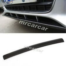 Carbon Fiber Front Lip O Style Chin Spoiler for Audi A4 B8 Non-Sline Bumper
