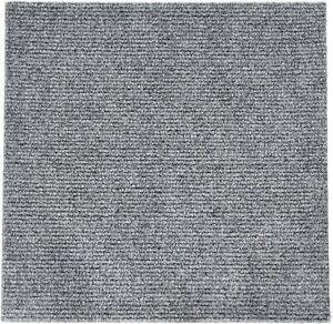 "Homeworx Direct Peel and Stick Carpet Tiles 36 Square Feet - Grey - 12"" x 12"""